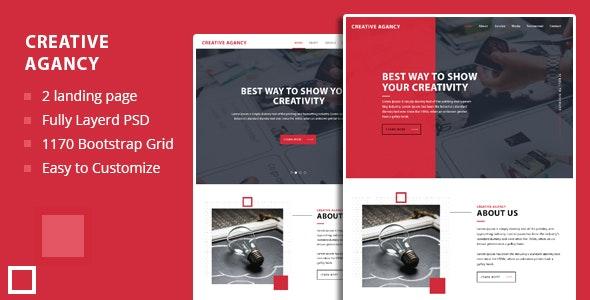 Creative Agency PSD Template - Business Corporate