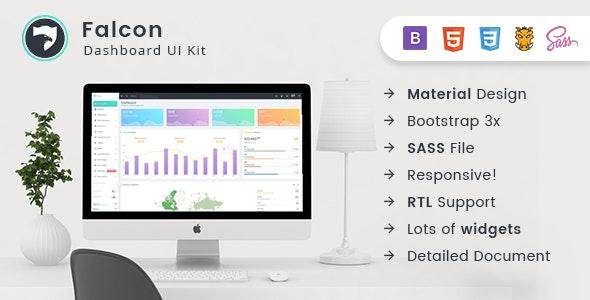 Falcon - Bootstrap Admin Dashboard Template + UI Kit - Admin Templates Site Templates