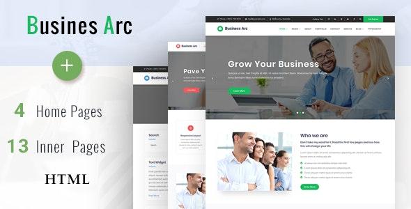 Business Arc - Multi Purpose Corporate HTML Template - Business Corporate