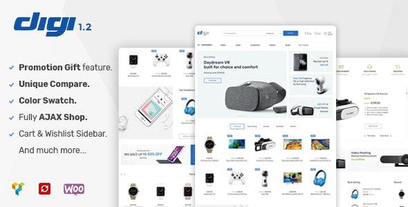Digi - Electronics Store WooCommerce Theme - WooCommerce eCommerce