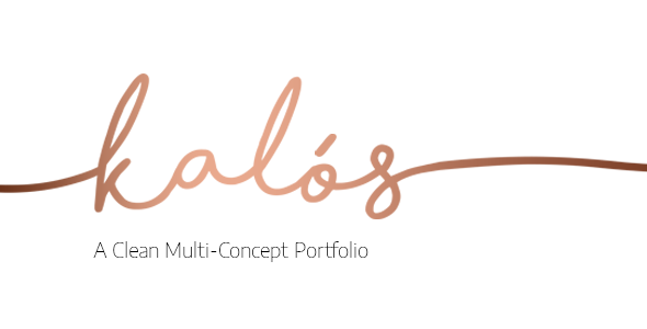 Kalόs - Portfolio WordPress Theme - Portfolio Creative