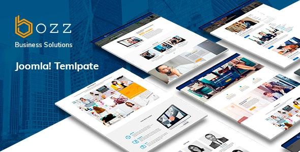 Bozz — Corporate and Business Responsive Joomla Template - Corporate Joomla