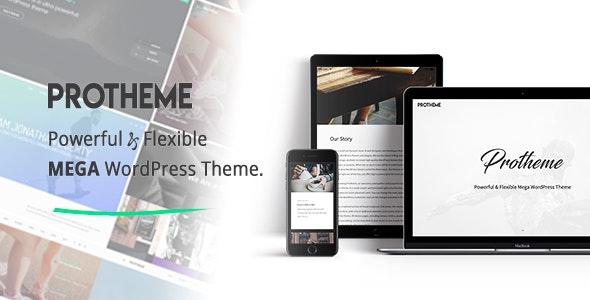 Protheme - Powerful & Flexible Mega WordPress Theme - Creative WordPress