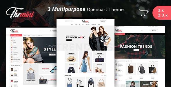 Themini - Multipurpose Responsive Fashion Opencart 3.x Theme