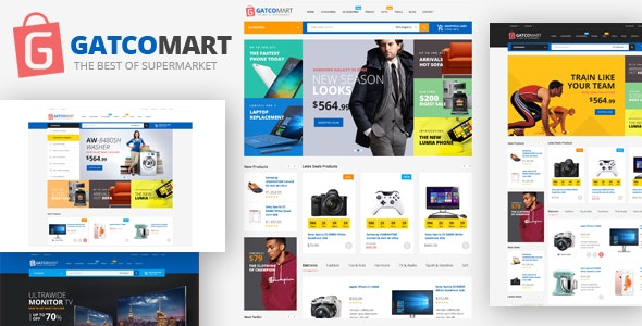 Gatcomart - Electronics Furniture Store HTML Template - Shopping Retail