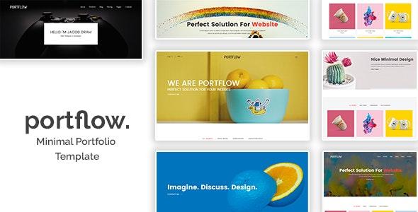 Portflow - Minimal Portfolio HTML Template - Portfolio Creative