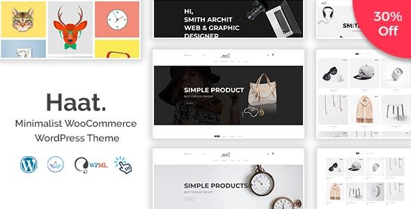 Haat - Minimalist WooCommerce WordPress Theme - WooCommerce eCommerce