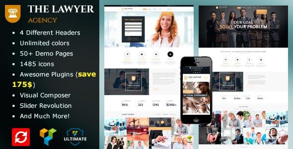 The Lawyer - Law Firm WordPress Theme