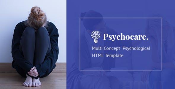 Psychocare - Psychology & Counseling HTML Template
