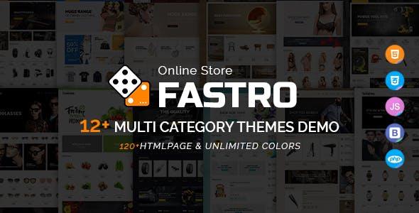 Fastro - E-Commerce Bootstrap Responsive Template