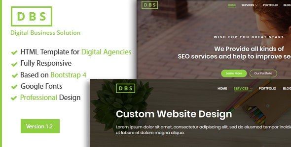 Digital Agency and Online Marketing Html Template - Technology Site Templates