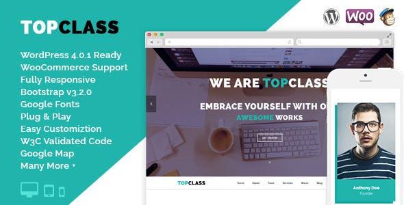 TopClass - Multipurpose Business & Corporate Theme
