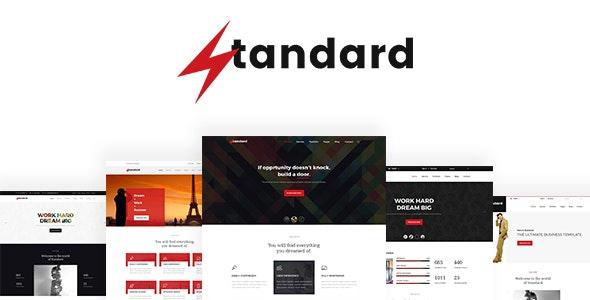 Standard - Multipurpose PSD template - Business Corporate