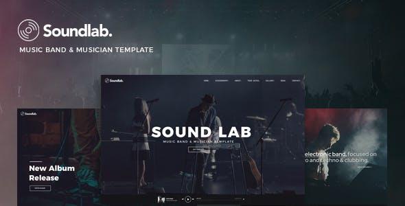 Soundlab - Music Band & Musician Template
