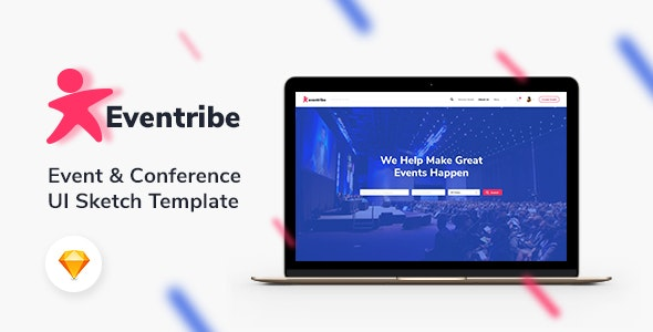 Eventribe - Event & Conference Sketch Template - Events Entertainment
