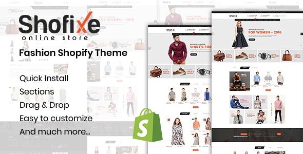 Shofixe - Fashion Shopify Theme - Shopping Shopify