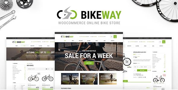 Bikeway - Sport Shop WooCommerce Theme - WooCommerce eCommerce