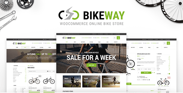 Bikeway - Sport Shop WooCommerce Theme