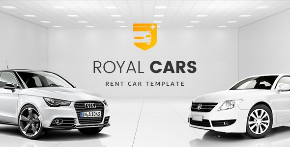 Royal Cars - Rent Car PSD Template - Business Corporate
