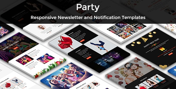 Party - Multipurpose Responsive Email Templates - Newsletters Email Templates