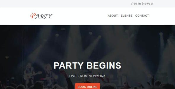 Party - Multipurpose Responsive Email Templates