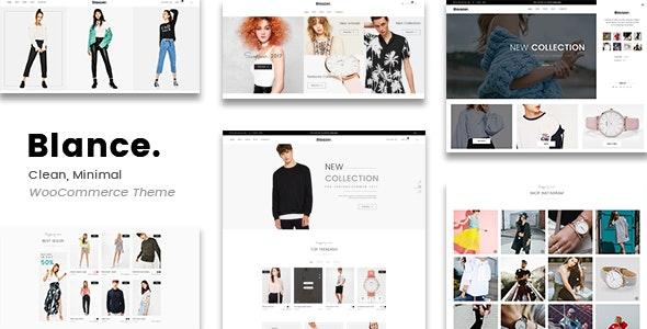 Blance - Clean, Minimal WooCommerce WordPress Theme - WooCommerce eCommerce