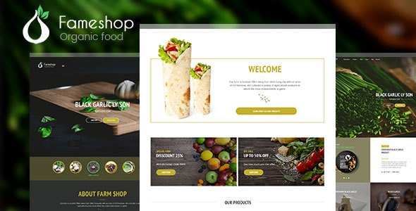 Fameshop - Organic, Bio WooCommerce WordPress Theme - WooCommerce eCommerce