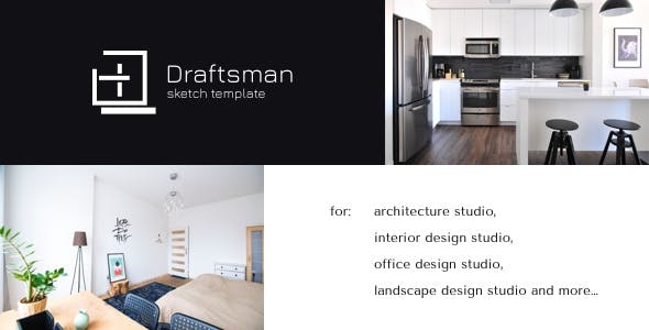 Draftsman - Architecture and Interior Sketch Template