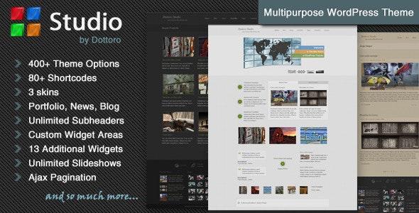 Dottoro Studio - Multipurpose WordPress Theme - Business Corporate