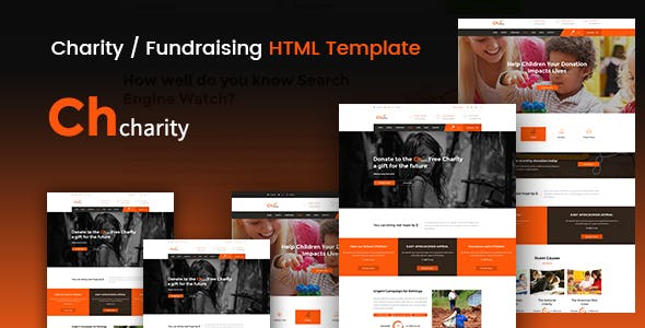 Chcharity - Charity / Fundraising HTML Template