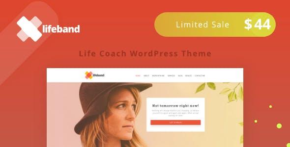 Lifeband - Life Coach WordPress Theme