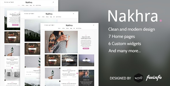 Nakhra Modern Personal Wordpress Blog Magazine Theme By Foxinfo,Simple Kitchen Pantry Designs Pictures