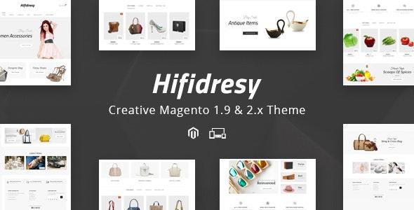 Hifidresy - Responsive Magento 1 & 2 Theme - Fashion Magento