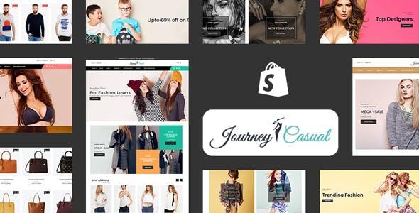 Journey Casual - Multipurpose Fashion Shopify Theme