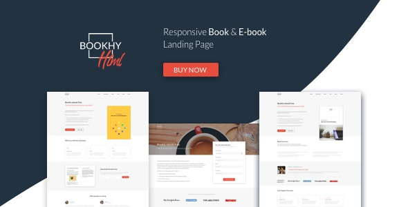 Bookhy - The Perfect Landing Page, Book & Ebook. Boost Your Conversions. - Landing Pages Marketing