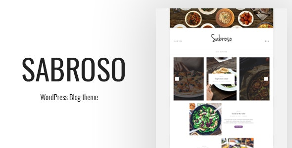 Sabroso - A WordPress Theme for Food Bloggers by IPkabuto | ThemeForest