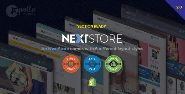 Ap Next Store - Shopify Responsive Theme - Fashion Shopify