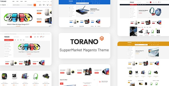Torano - Supermarket Marketplace Magento 2 Theme by CleverSoft