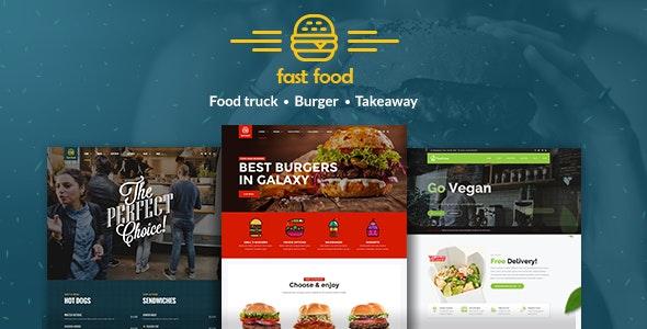 Fast Food WordPress Theme - Food Retail