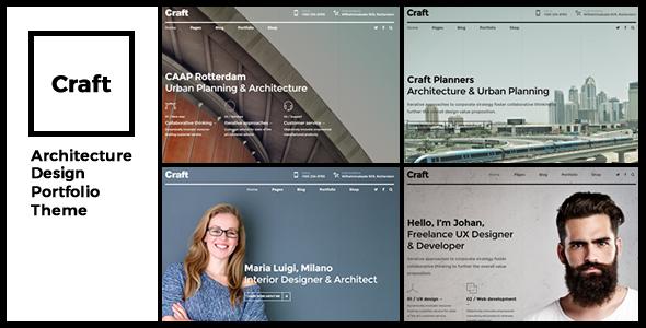 Craft Portfolio - Architecture & Design - Portfolio Creative