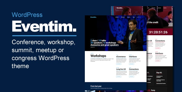 Eventim - Conference & Events Theme - Marketing Corporate