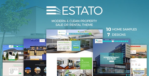 Single Property Real Estate - Estato - Real Estate WordPress