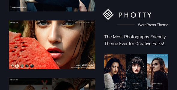 Photty - Fotoğraf Wordpress Teması