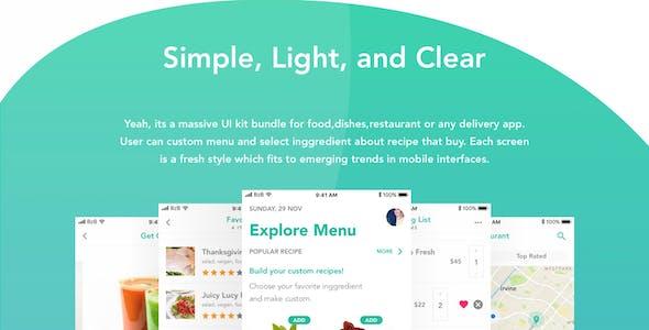 REFO - Multipurpose Restaurant UI Kit Template for Food Order