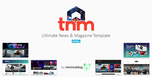 The Next Mag - Ultimate News & Magazine Template - Site Templates
