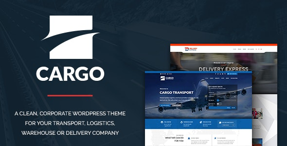 Cargo – Transport & Logistics - Business Corporate