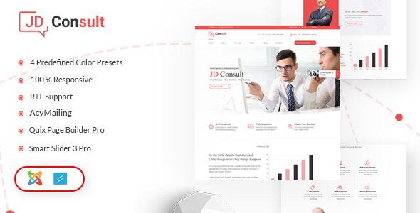 JD Consult - Multipurpose & eCommerce Joomla Template - Joomla CMS Themes
