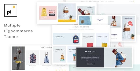 Pi Bags Responsive Bigcommerce Theme - BigCommerce eCommerce