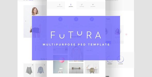 Futura - Multipurpose PSD Template | Corporate - Business Corporate