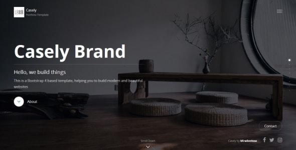 Casely - Creative Website Template for Agency, Business and Portfolio - Portfolio Creative